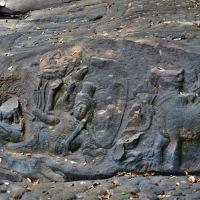 「クバール スピアン(Kbal Spean)」~シェムリアップ郊外 山の川の源流にある水中遺跡までトレッキング ①