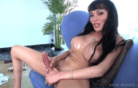 Mia Isabella Wanking Her Big Cock