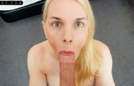 Tspov presents LouLou Lamour in German Trans Babe Sucks the D