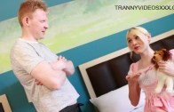 Clips4sale – Jenny Flowers & Rob Yaeger in Dont Tell Daddy TS Schoolgirl Jenny Flowers Sniffs My Shorts then Gets Ravished