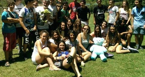 Foto de grupo (con Yoda y el oso amoroso)