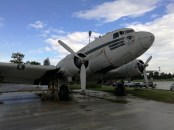 C-47 or modified DC3 used by Lord Mountbatten as command aircraft