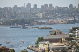 Sydney across the harbor