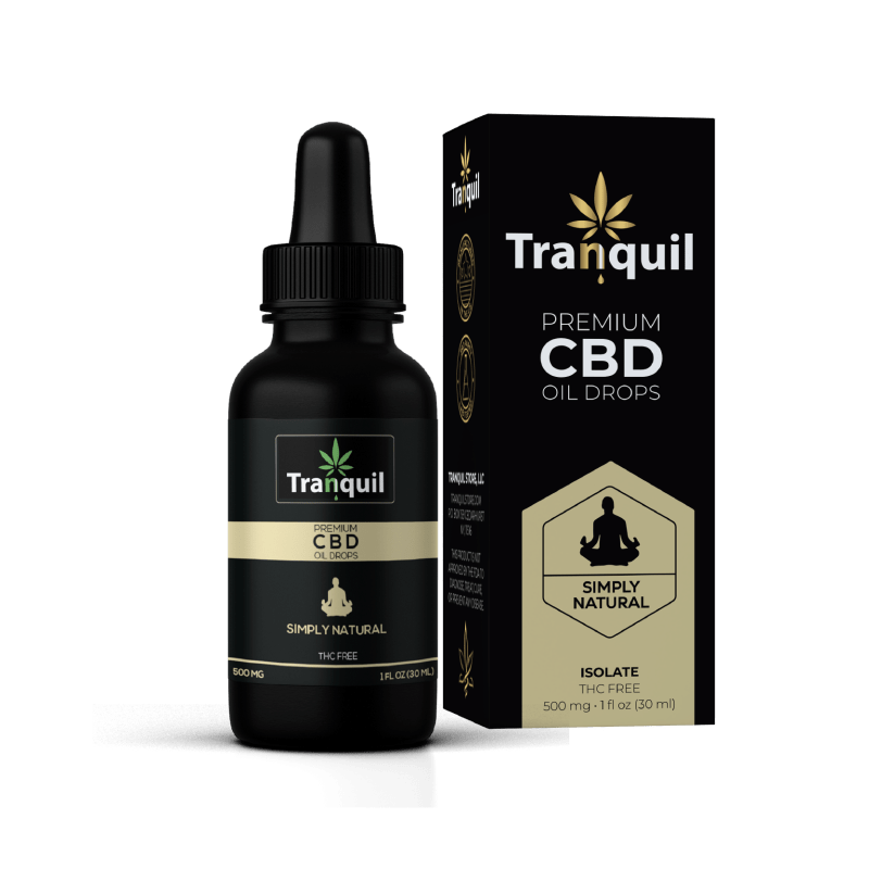 Natural CBD Premium Oil Drop