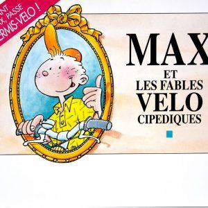"""Brochure """" Max et les fables vélocipédiques"""" Sécurité de l'enfant cycliste"""