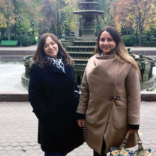 Alexandra Safronova & Galina Karger