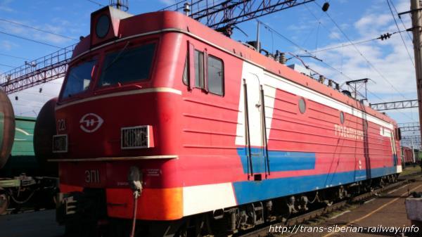 シベリア鉄道ЭП1(EP1) 画像