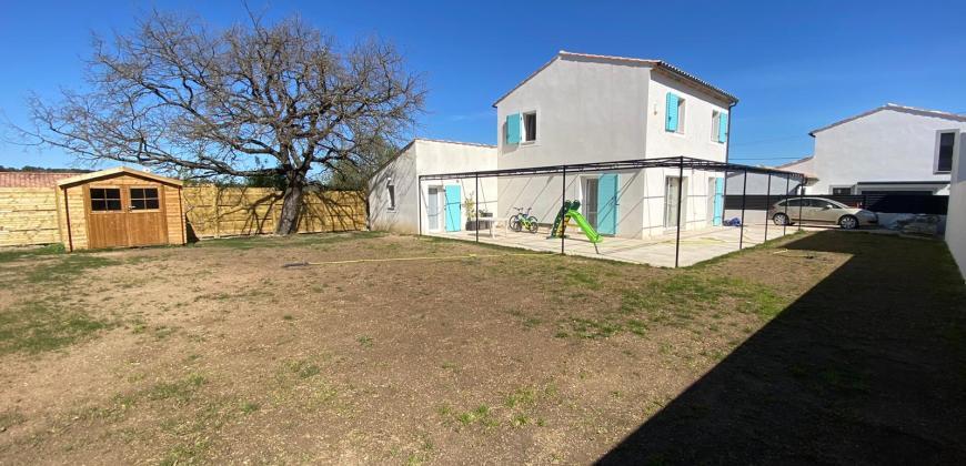 EXCLUSIVITE à GREASQUE cette villa T4 NEUVE de 115m2 / 718m² de terrain!