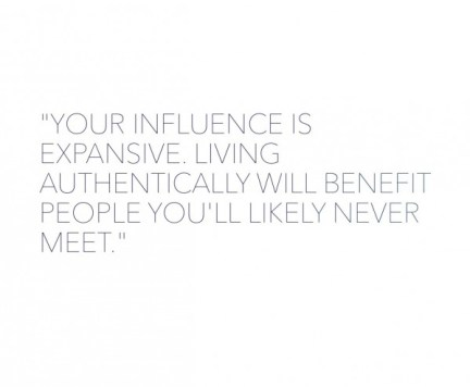 Your influence