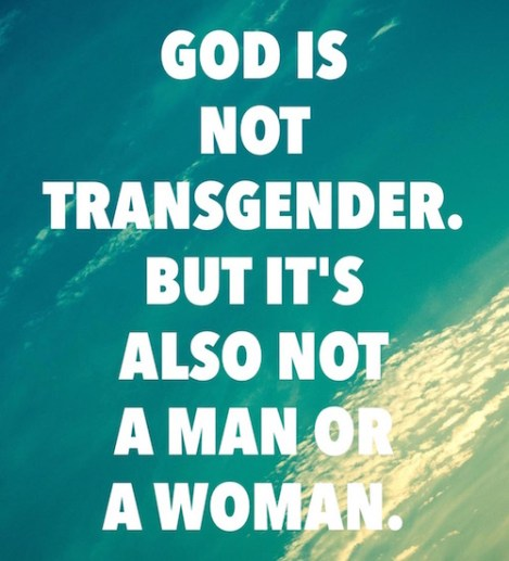 God is transgender