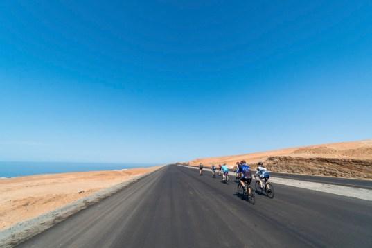 Vélo de route au sud Pérou