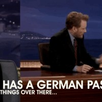 """Was ist los?"" - Kirsten Dunst and Conan O'Brien about Germany"