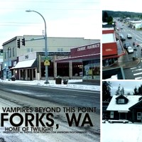 "(No) Vampires Beyond This Point: Forks, WA - The town of ""Twilight"""