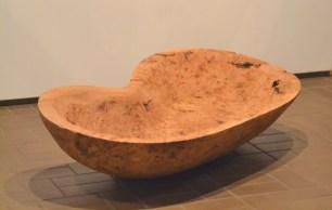 A massive bowl made by artist Peter Schmidt.