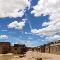 "ACOMA PUEBLO ""SKY CITY,"" NEW MEXICO: Place of Native American history, mixed culture and fallen off crosses [Photo-report]"