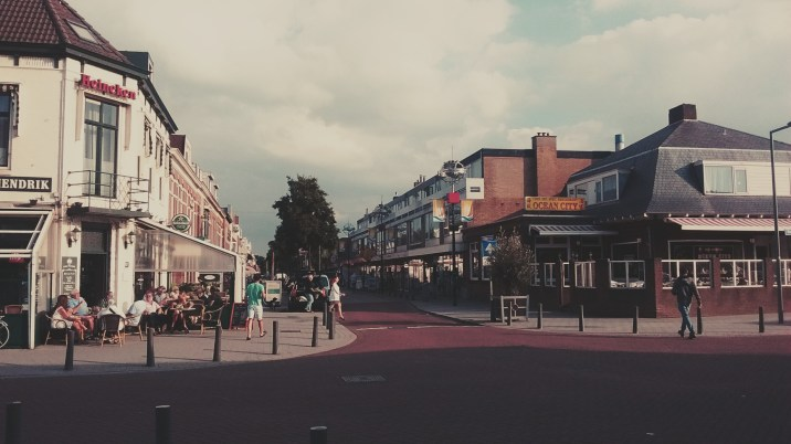 """The small beach town of Hoek van Holland - which means """"corner of Holland""""."""