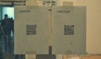 A digital festival with digital opportunities - programm and exhibition map via QR-Code.