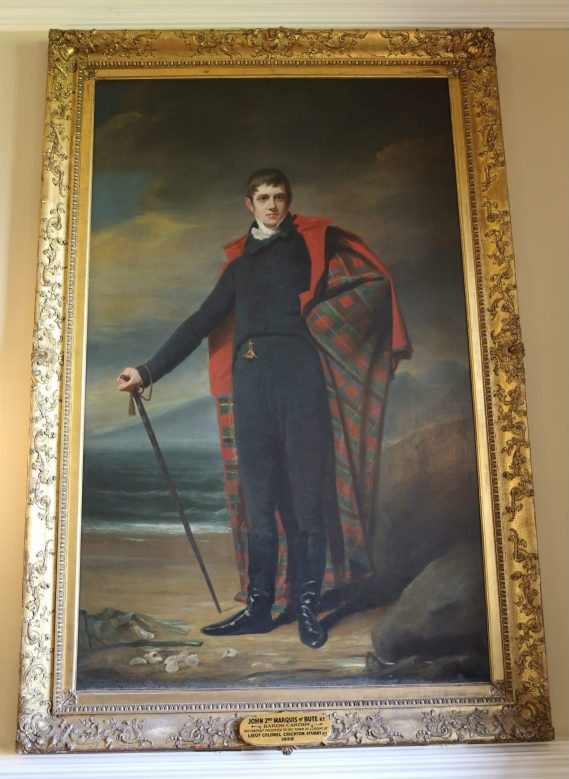 John Patrick Crichton-Stuart, 3rd Marquess of Bute - destined to become one of the greatest private patrons of architecture this country has seen - earned lorsdhip when was only six months old.