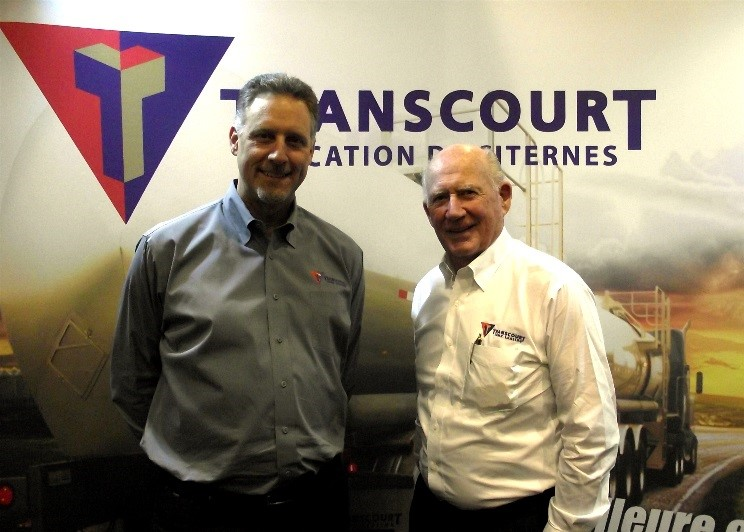 Bruce Daccord and John Campbell co-founders of Transcourt Tank Leasing