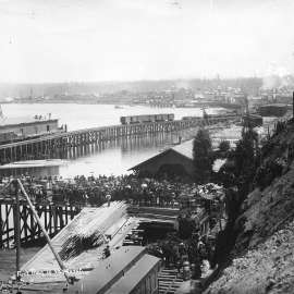 Vancouver commemorates arrival of the first train – May 23, 1887