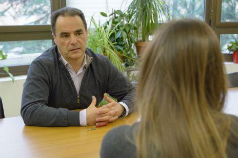 Ricardo Canal, experto a nivel internacional sobre Trastornos del Espectro Autista (TEA) y profesor de la Universidad de Salamanca. Foto: Sergio Manzano (USAL)