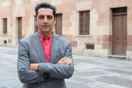 El catedrático de Ingeniería Cartográfica, Geodésica y Fotogrametría y director del Grupo TIDOP, Diego González Aguilera. Foto: Sergio Manzano