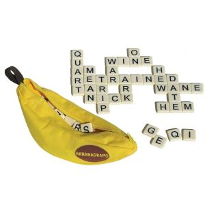 Bananagrams word game Transfer Test tips