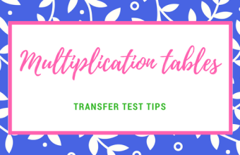 AQE maths multiplication tables