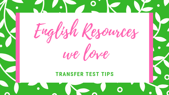 English resources we love Transfer Test Tips