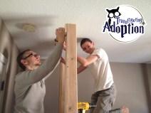 DIY Harry Potter bedroom loft building