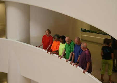 John Morse brought a pop-up installation to the Guggenheim earlier this month. Jaynie Gillman Crimmons
