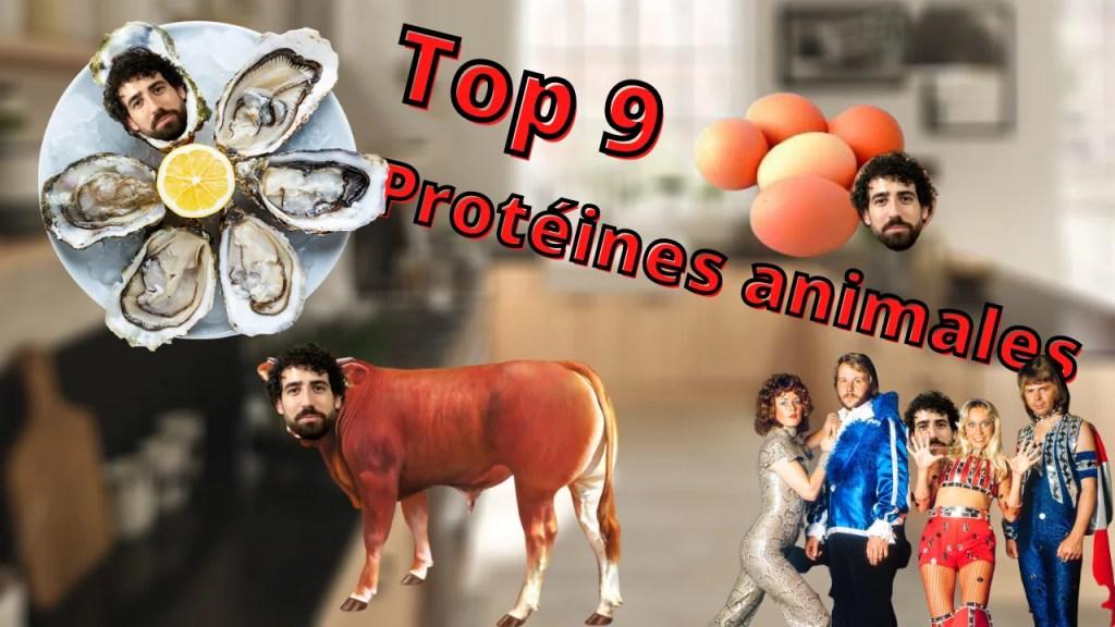 meilleures sources de protéines animales