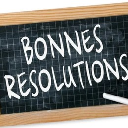 bonnes resolutions