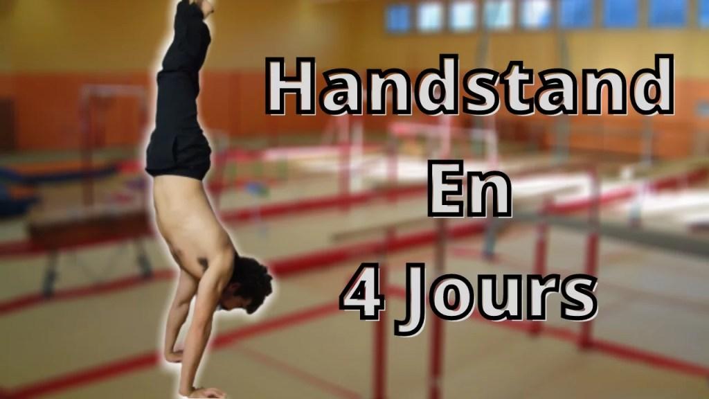 réussir le handstand