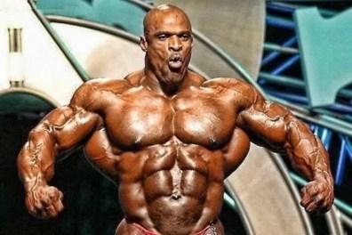 le bodybuilder Ronnie Coleman