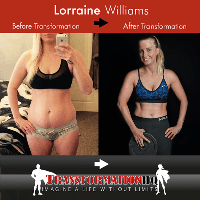 TransformationHQ Before and After Lorraine Williams 600px