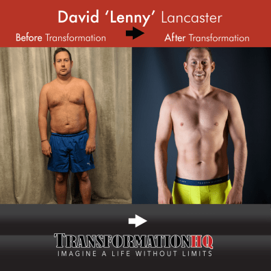 Transformation HQ Before & After 1000 David 'Lenny' Lancaster