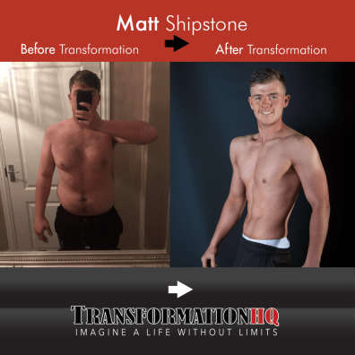 Transformation HQ Before & After 1000 Matt Shipstone