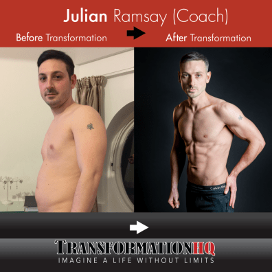Transformation HQ Before & After 24x24 Julian Ramsay