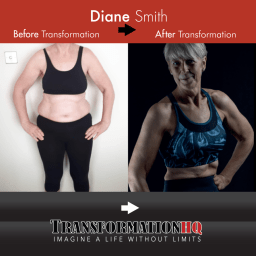 Transformation HQ Before & After 12x12 Diane Smith