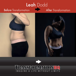 Transformation HQ Before & After 12x12 Leah Dodd