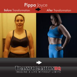 Transformation HQ Before & After 12x12 Pippa Joyce