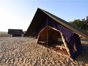 Safari Camp at Satpura National Park
