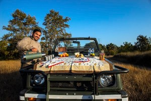 Best Bush Breakfast at Singinawa , Kanha national Park, India