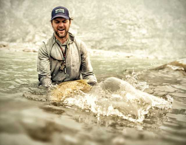 Nepal India border Mahseer fishing