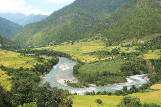 Himalayan fly fishing trip Bhutan