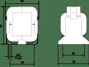 Габаритные размеры ТП-60