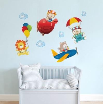 adesivos de parede para quarto de bebê4