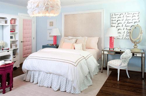 Dicas de decoração para quartos femininos3