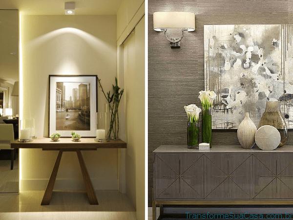 Decoração de hall de entrada – Como fazer 10 dicas de decoração como decorar como organizar